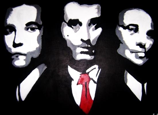 Ray Liotta, Joe Pesci, Robert De Niro por E.Alimi